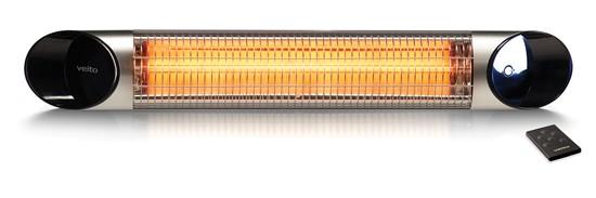 Karbonový infrazářič Veito Blade Silver