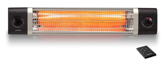 Karbonový infrazářič Veito CH2500RW černý