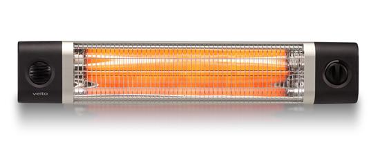 Karbonový infrazářič Veito CH2500TW černý