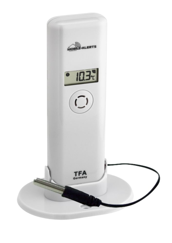 WEATHERHUB - bezdrátové čidlo s profi-kabelovým čidlem TFA 30.3302.02