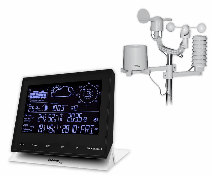 Meteostanice WS 1700