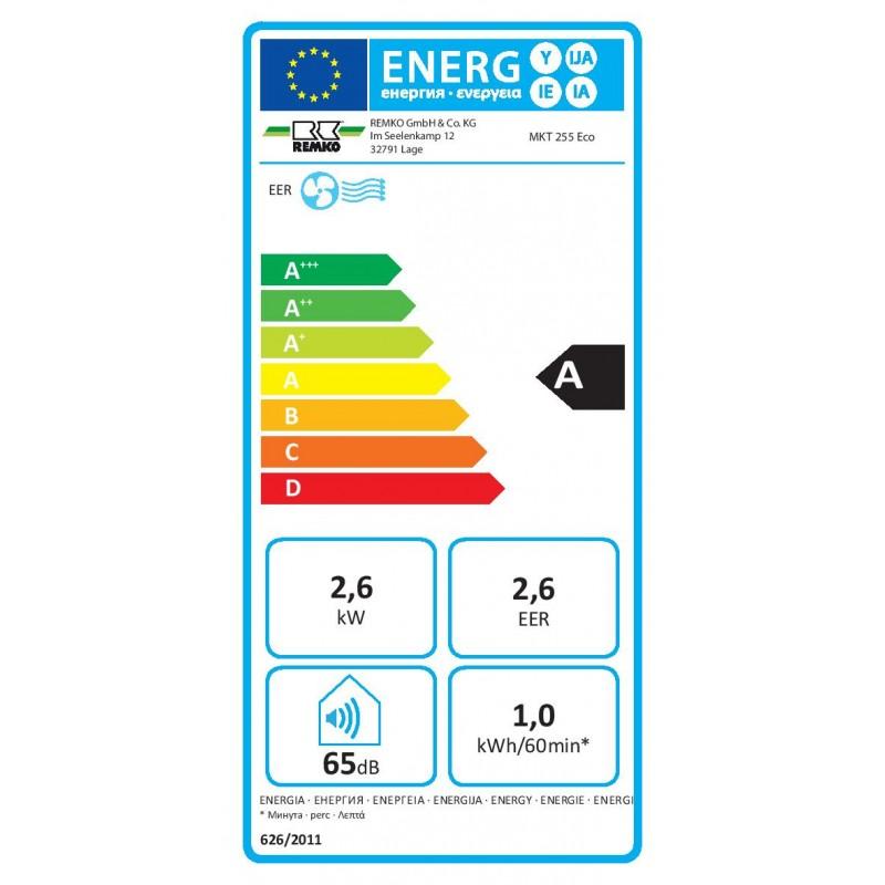 Mobilní klimatizace REMKO MKT 255 Eco S-Line