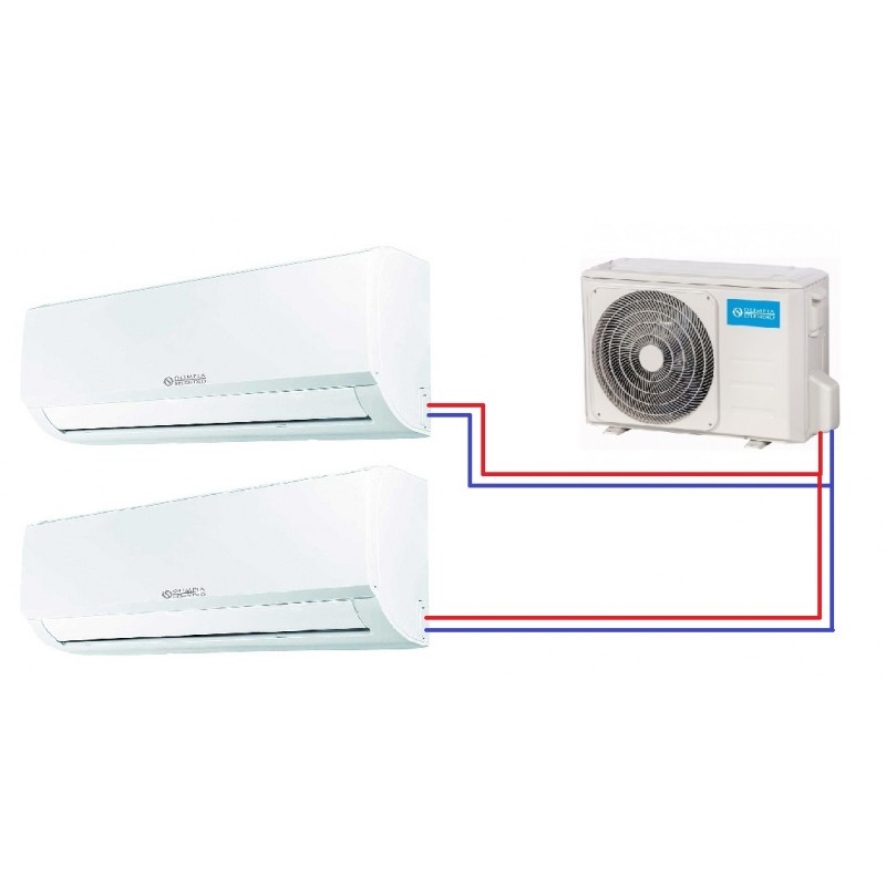 Multi-split klimatizace Olimpia Splendid ARYAL S1 E DUAL Inverter 14 (9+9)