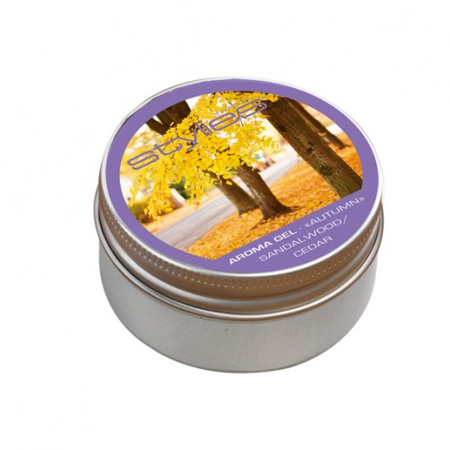 Aroma gel Stylies - Cedrové/santalové dřevo