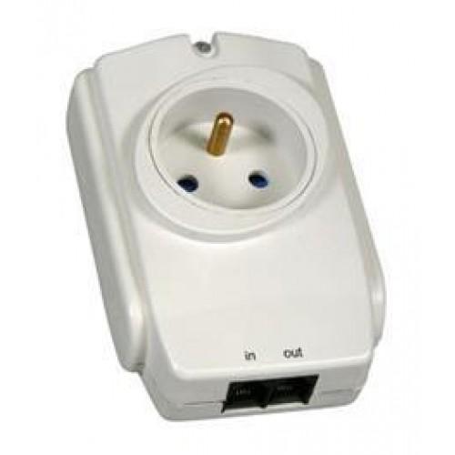 Zásuvková přepěťová ochrana pro infrazářiče
