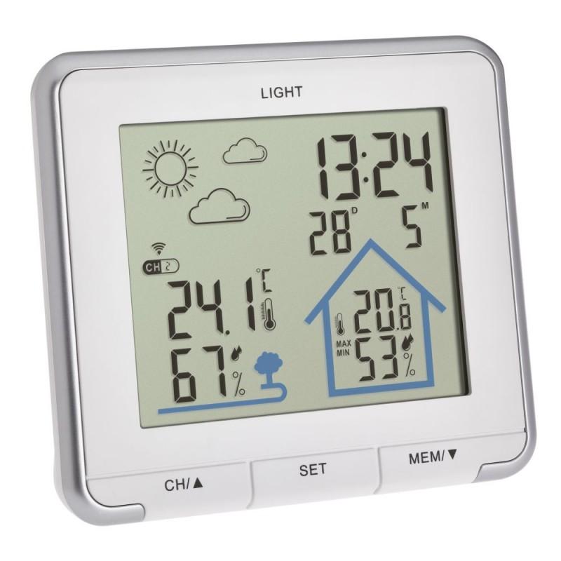 Domácí meteostanice s předpovědí počasí TFA 35.1153.02 LIFE - bílá