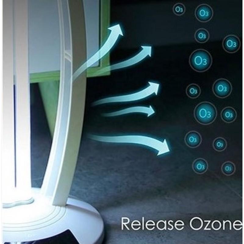 Antibakteriální UV lampa IQ-OSL s ozónem - bílá