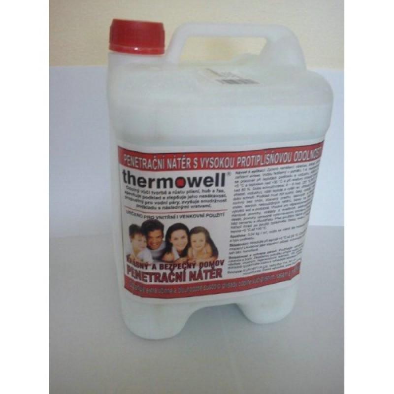 Penetrační nátěr s vysokou protiplísňovou odolností Thermowell 5kg