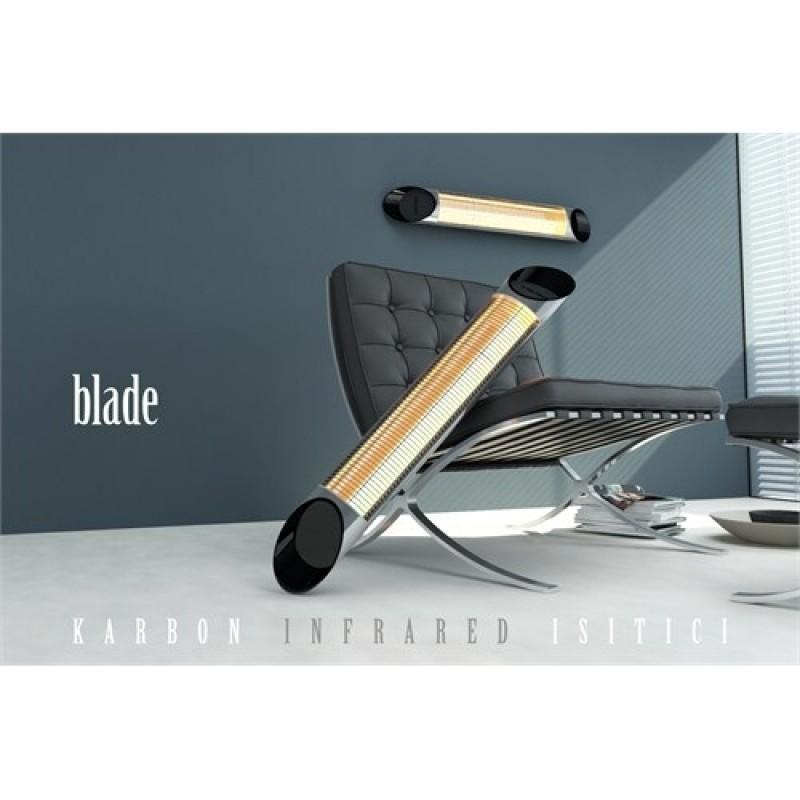 Karbonový zářič Veito Blade S silver