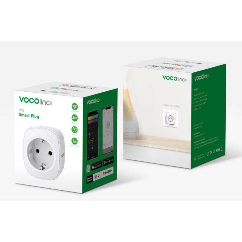 Zásuvka s měřením spotřeby VOCOlinc VP3