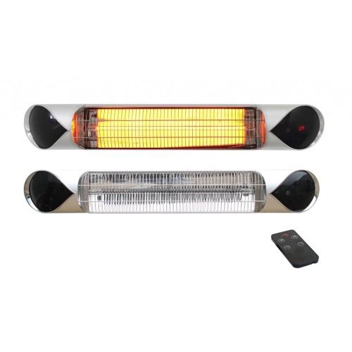 Karbonový infrazářič IQ-STAR S silver