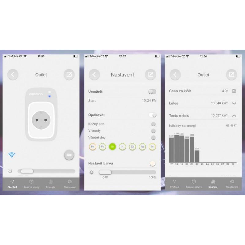 Zásuvka s měřením spotřeby VOCOlinc PM5