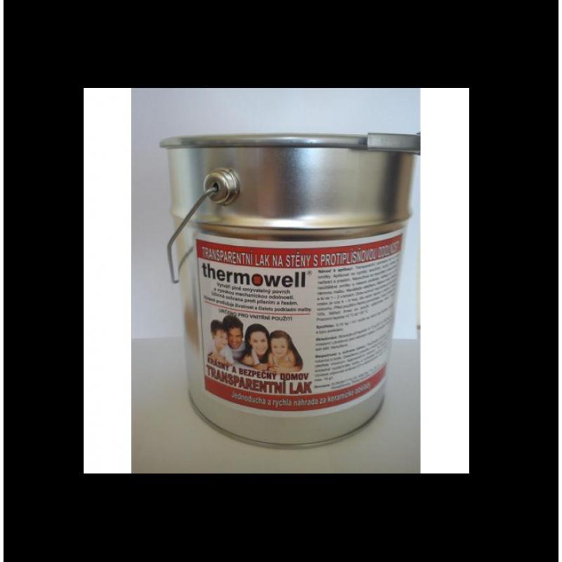 Transparentní lak na stěny Thermowell 4,8 kg