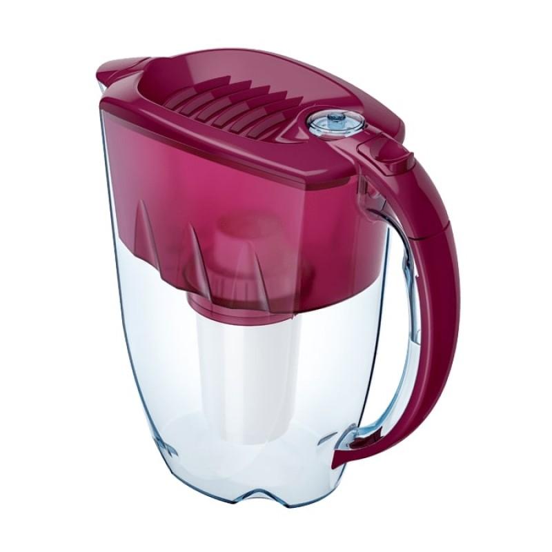 Filtrační konvice Aquaphor Prestiž - Tmavě červená