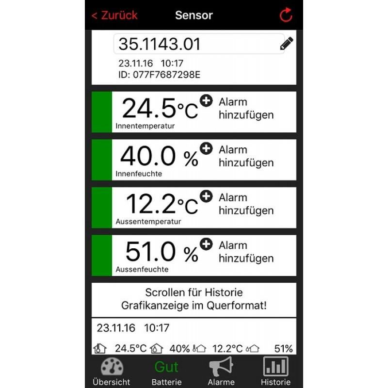 WEATHERHUB - domácí meteostanice TFA 35.1143.01.IT