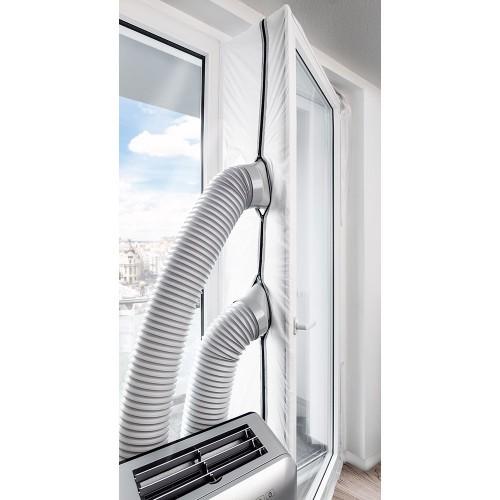Izolace do balkónových dveří pro mobilní klimatizace