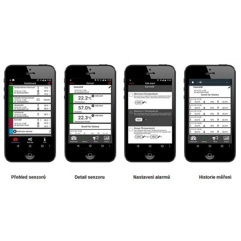 WEATHERHUB č.13 - bezdrátový monitor klimatu TFA 31.4013.02