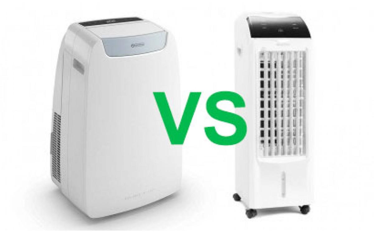 Rozdíly mezi mobilní klimatizací a ochlazovačem vzduchu