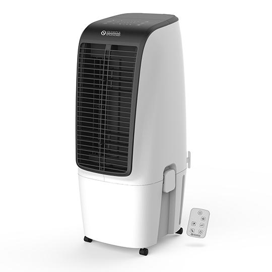 Ochlazovač vzduchu Olimpia Splendid PELER 20 + Dárek Stolní USB ventilátor AERIUM Karpa