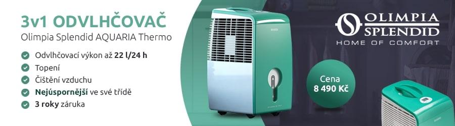 Odvlhčovač vzduchu s topením a čištěním