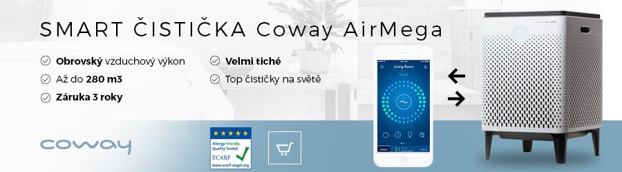 Smart čistička vzduchu Coway