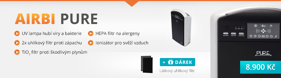 čističky vzduchu Airbi Pure