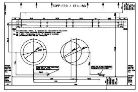 Instalační šablona pro Olimpia Splendid Unico