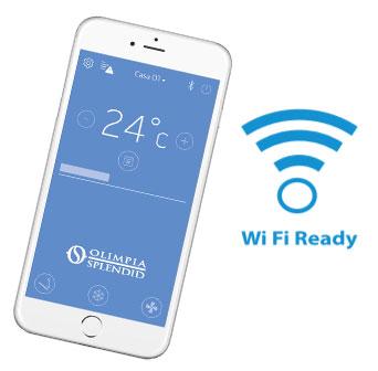 ovládání klimatizace s mobilní aplikací