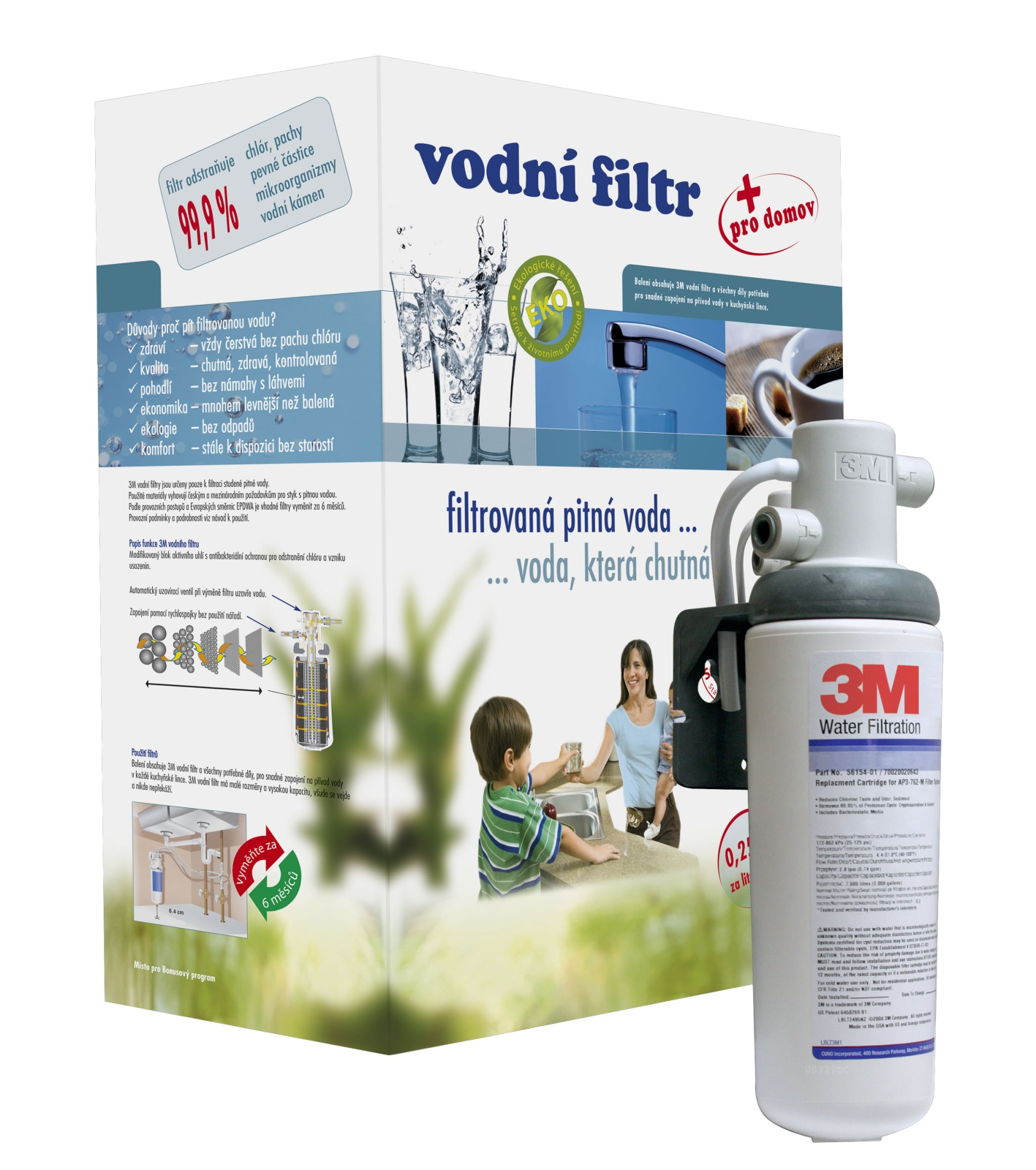 Sada pro vodní filtraci 3M Classic
