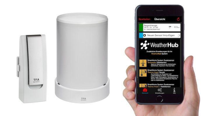 WEATHERHUB č.3 - bezdrátový monitor klimatu TFA 31.4003.02