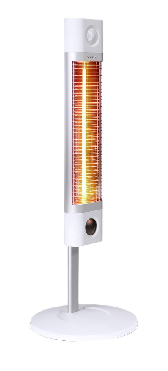 Karbonový infrazářič Veito CH1800RE bílý